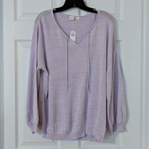 Lilac Bell Sleeve Sweater
